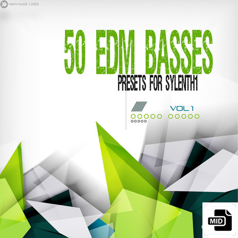 50 EDM Basses For Sylenth1