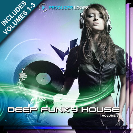 Deep Funky House Bundle (Vols 1-3)