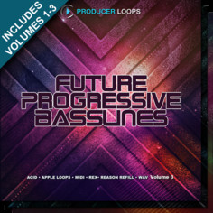 Future Progressive Basslines Bundle (Vols 1-3)