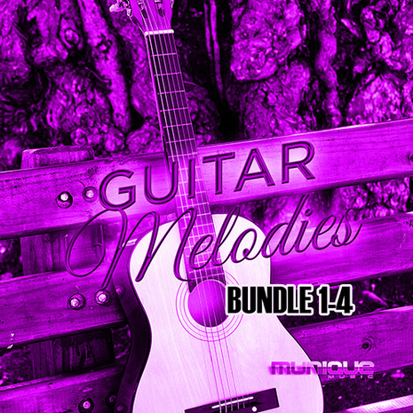 Guitar Melodies Bundle (Vols 1-4)
