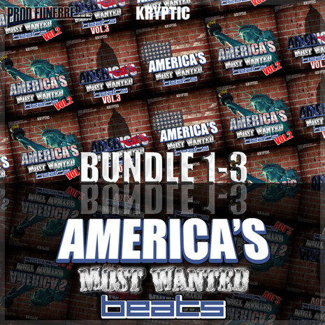 America's Most Wanted Beats Bundle (Vols 1-3)