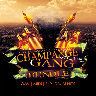 Champagne Gang Bundle Vols 1-4