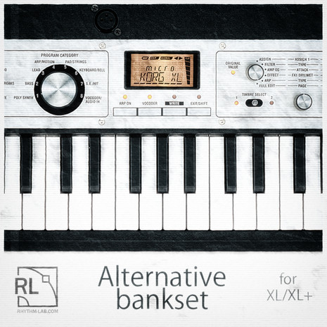 Microkorg XL/XL+ Alternative Bankset