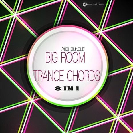 Big Room Trance Chords 8 in 1: MIDI Bundle