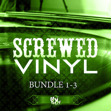 Screwed Vinyl Bundle Vols 1-3
