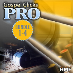 Gospel Clicks Pro Bundle Vols 1-4