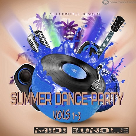 Summer Dance Party MIDI Bundle (Vols 1-3)