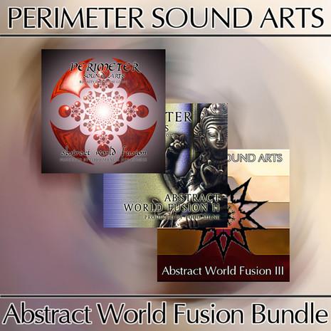 Abstract World Fusion Triple Bundle