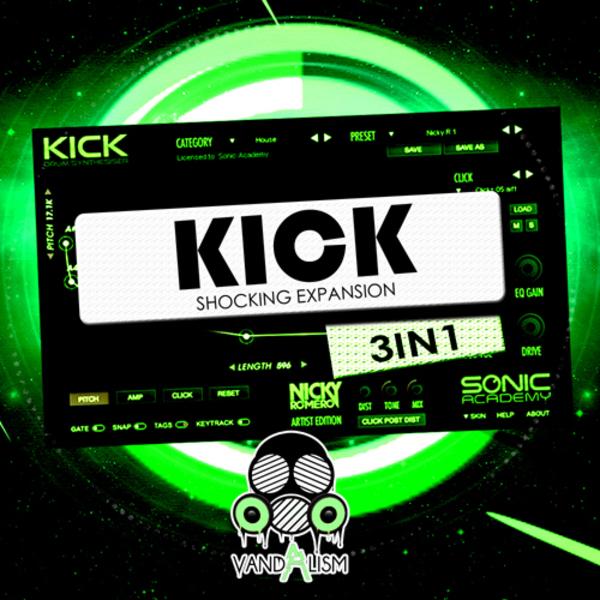 KICK: Shocking Expansion 3-in-1