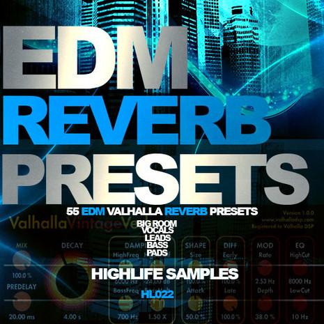 EDM Reverb Presets