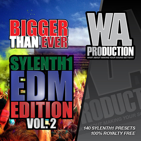 Bigger Than Ever: Sylenth1 EDM Edition Vol 2