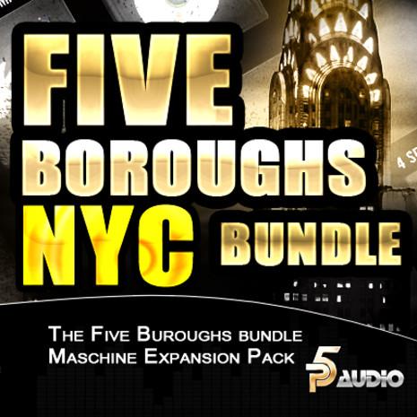 Five Buroughs Bundle For NI Maschine