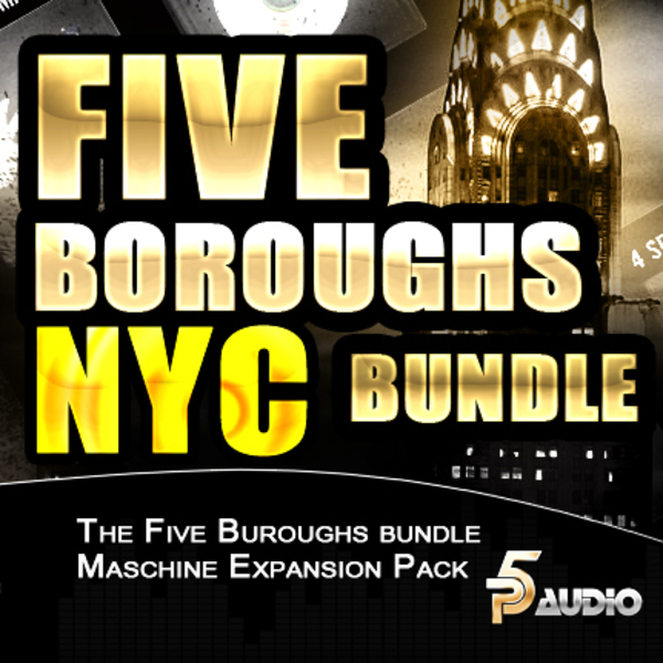 Five Buroughs Bundle For NI Maschine
