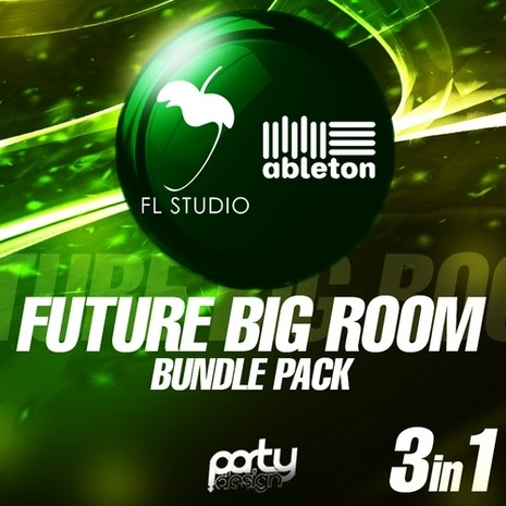 Future Big Room Bundle Pack: 3-in-1