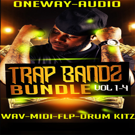 Trap Bandz Bundle (Vols 1-4)