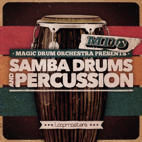 The Magic Drum Orchestra: Samba Drums & Percussion