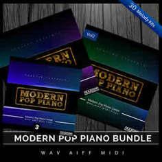 Modern Pop Piano Bundle (Vols 1-3)
