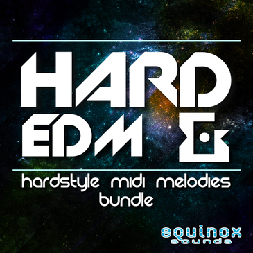 Hard EDM & Hardstyle MIDI Melodies Bundle