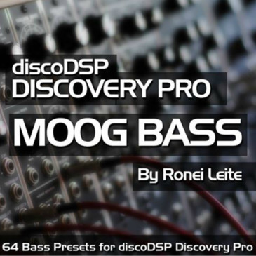 Moog Bass For DiscoDSP Discovery Pro
