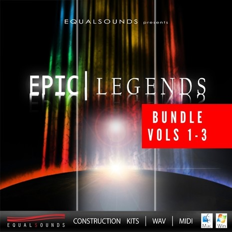 Epic Legends Bundle (Vols 1-3)