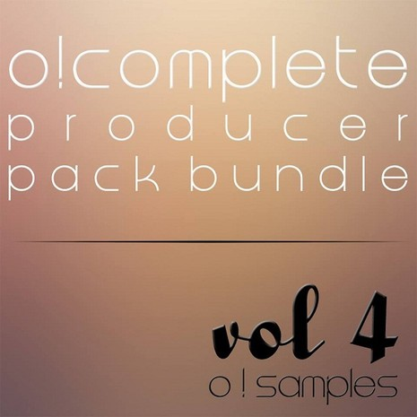 O! Complete Producer Pack Bundle Vol 4