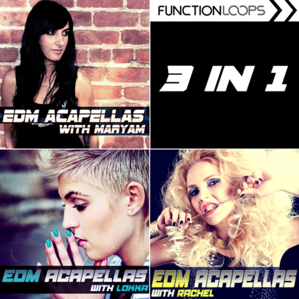 EDM Acapellas Trilogy
