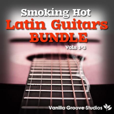 Smoking Hot Latin Guitars Bundle (Vols 1-3)