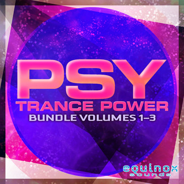 Psy Trance Power Bundle (Vols 1-3)