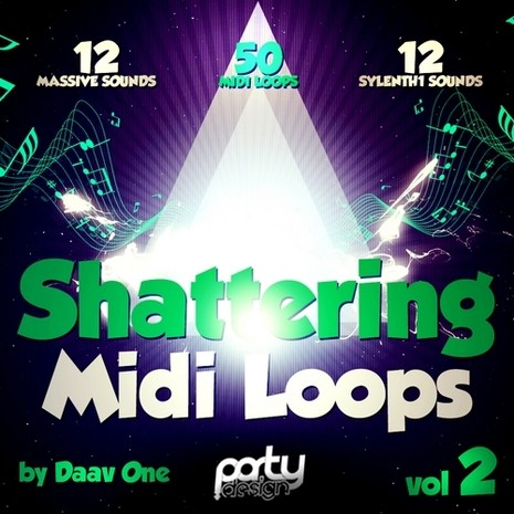 Shattering MIDI Loops Vol 2