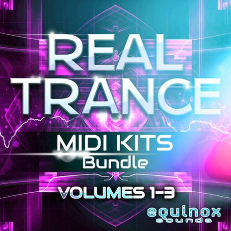Real Trance MIDI Kits Bundle (Vols 1-3)