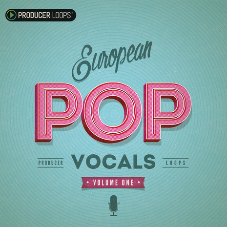 European Pop Vocals Vol 1