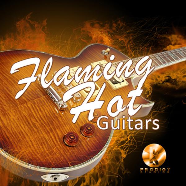 Flaming Hot Guitars