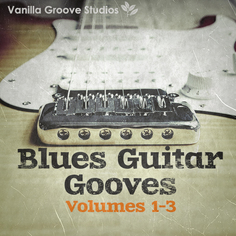 Blues Guitar Grooves Bundle (Vols 1-3)