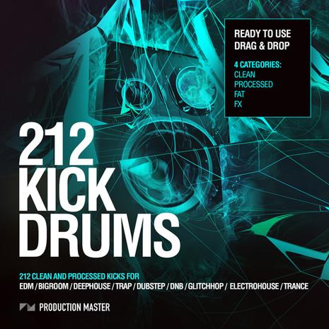 212 Kick Drums Vol 1