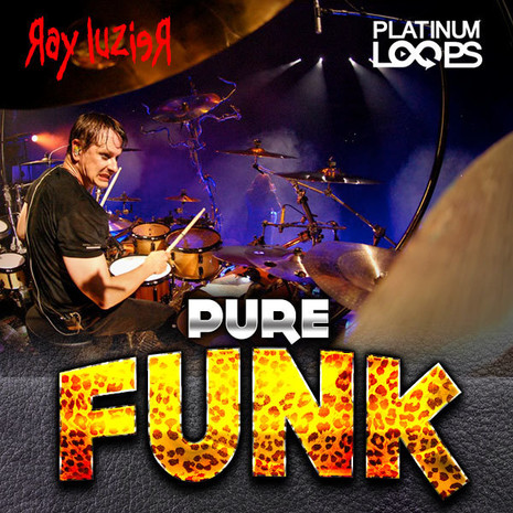 Ray Luzier: Pure Funk Drum Loops Vol 1