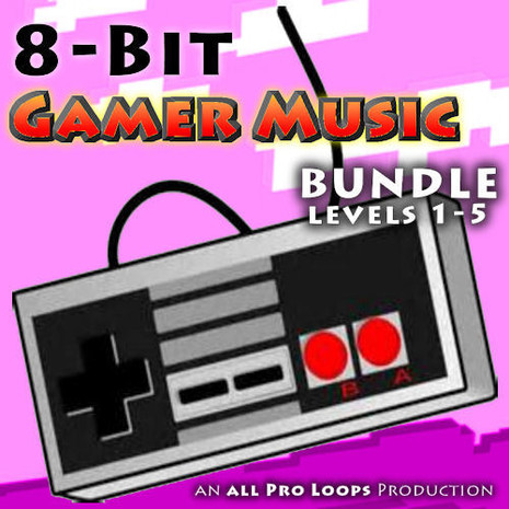 8-Bit Gamer Music Bundle (Levels 1-5)