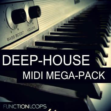 Deep House MIDI Megapack
