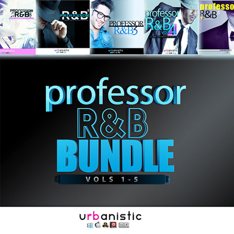 Professor R&B Bundle (Vols 1-5)