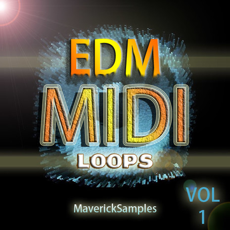 EDM MIDI Loops Vol 1
