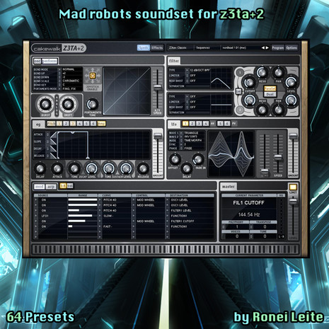 Mad Robots For Z3TA+2 By Ronei Leite