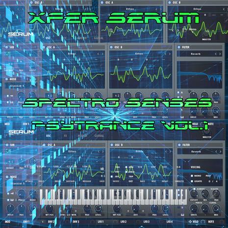 Xfer Serum: Spectro Senses Psytrance Vol 1