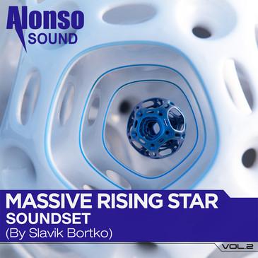 Massive Rising Star Soundset Vol 2 by Slavik Bortko