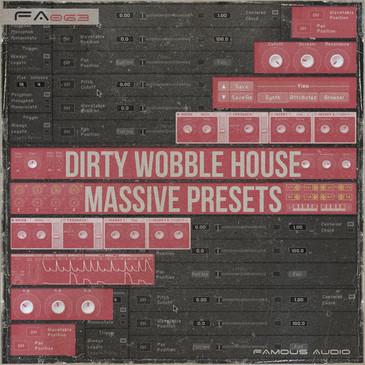Dirty Wobble House: Massive Presets