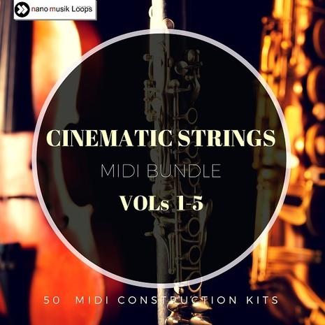 Cinematic Strings MIDI Bundle (Vols 1-5)