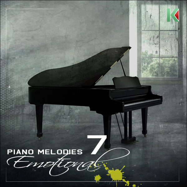 Kryptic Piano Melodies: Emotional 7
