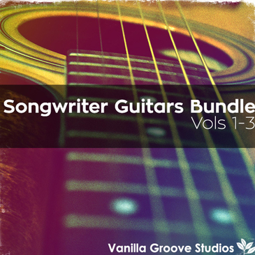 Songwriter Guitars Bundle (Vols 1-3)