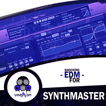Shocking EDM For Synthmaster