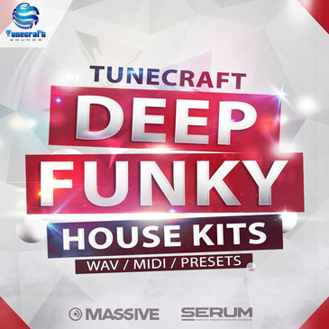 Tunecraft Deep Funky House Kits