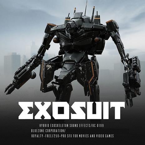 Exosuit: Hybrid Exoskeleton Sound Effects