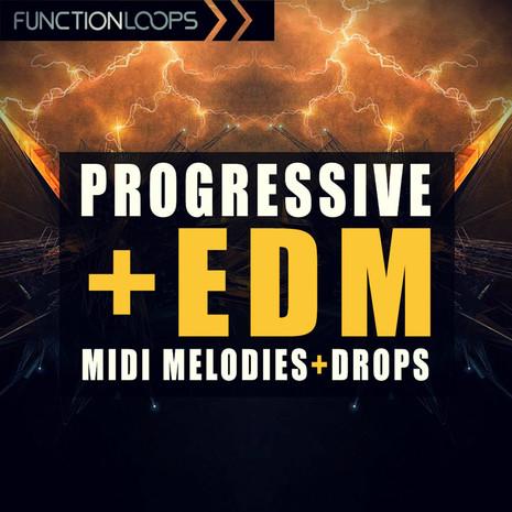 Progressive & EDM MIDI Melodies + Drops